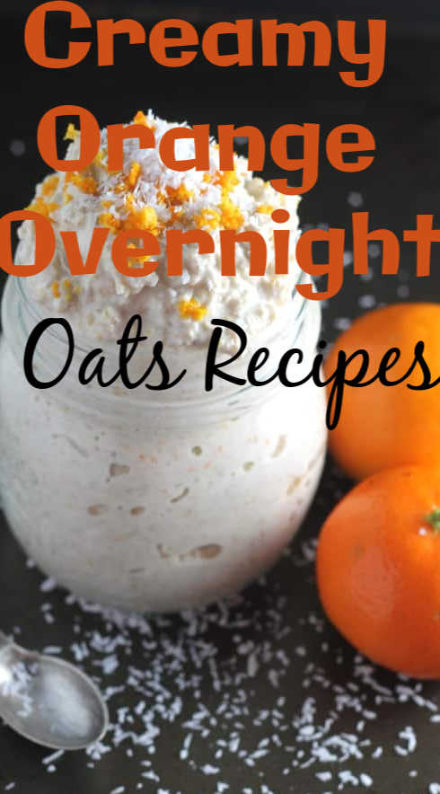 Creamy Orange Overnight Oats Recipes for Weight Loss