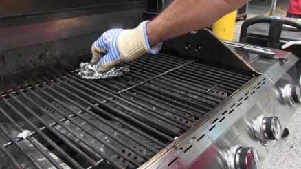 How to Clean Weber Porcelain Grill Grates - DIY BBQ Cleaner