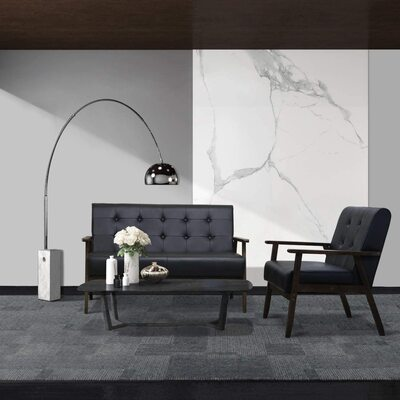 Mid Century Retro Living Room Sofa Set