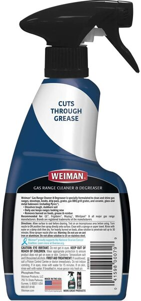 Weiman Cook Top Cleaner and Degreaser