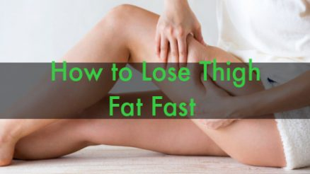 How to Lose Thigh Fat Fast With Exercises