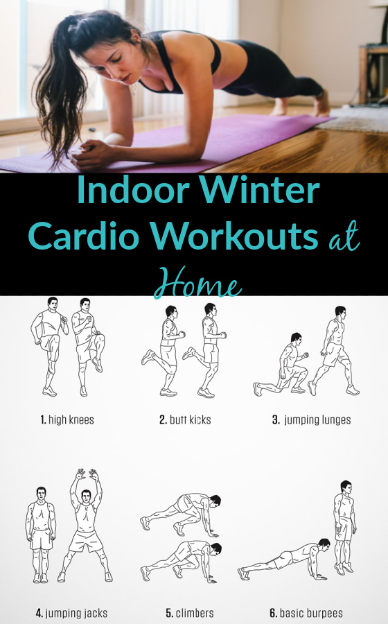 Indoor Winter Cardio Workouts Plan at Home