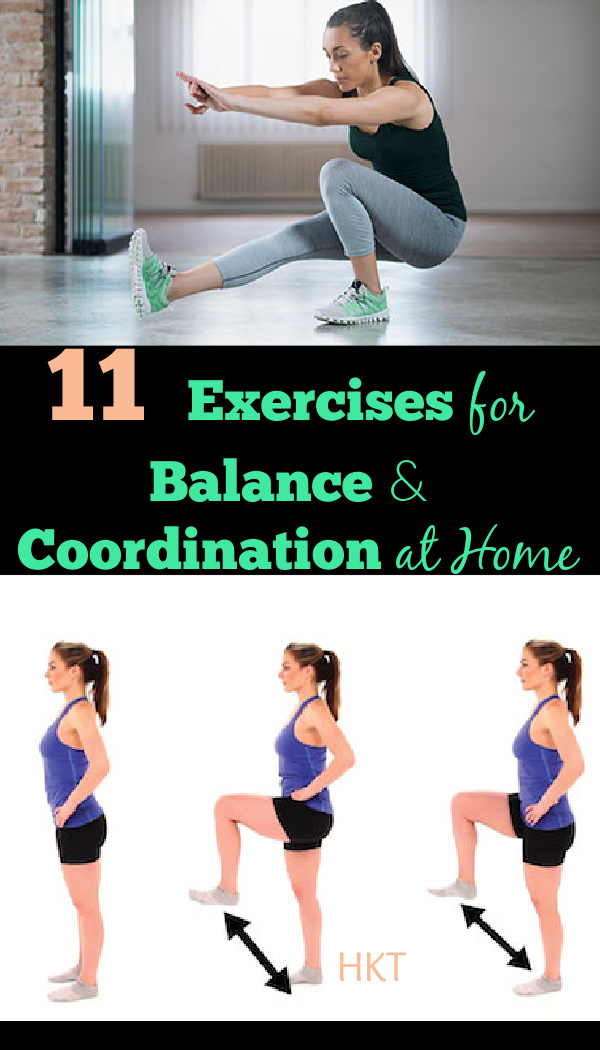 Easy Exercises for Balance and Coordination at Home