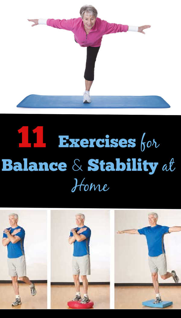 Easy Exercises for Balance and Stability at Home
