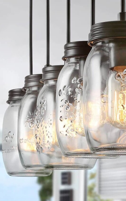 Glowing Farmhouse Light