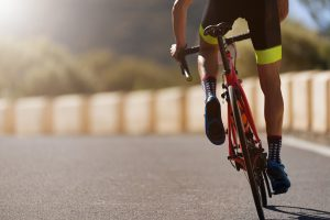 belly fat cycling