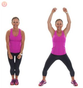 Hanging Belly Fat Jumping Jacks
