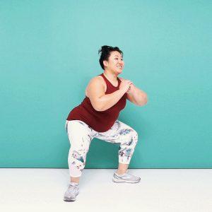 belly fat squat