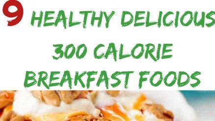 9 Healthy Delicious 300 Calorie Breakfast Foods